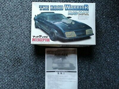 Mad Max Interceptor Model Kit Box With Instructions, No Model, Just The Box. • 20£