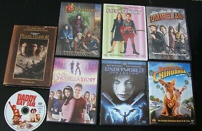 $ CDN6.79 • Buy Lot Of 8 DVDs Assorted Genre's.. Pearl Harbor, Zombiland, Daddy Daycare & Others