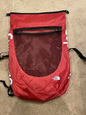 $ CDN396.36 • Buy Supreme The North Face Waterproof Red Backpack