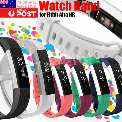 AU4.75 • Buy Small/ Large Size Replacement Wristband Band Strap For Fitbit Alta HR Wristband