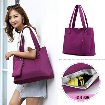 $ CDN14.96 • Buy Women Handbags Shoulder Messenger Bag Nylon Waterproof Tote Bag Ladies Purse LI