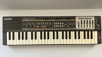 $75 • Buy Casio MT-100 Casiotone Keyboard Synthesizer Graphic Equalizer Tested Works Great