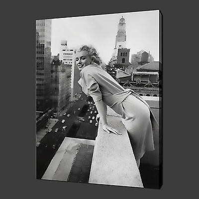£29.99 • Buy MARILYN MONROE ICONIC MODERN WALL ART PICTURE CANVAS PRINT 20 X16  FREE UK P&P