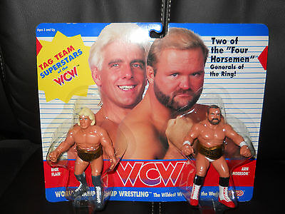 $ CDN562.41 • Buy GALOOB WCW/wwf/nwa RIC FLAIR/ARN ANDERSON Figure,moc ULTRA/GEM Condition RARE.