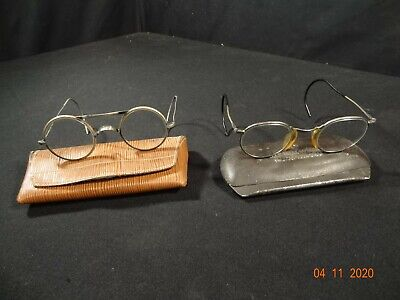$73.51 • Buy AO & DH SAFETY GOGGLES GLASSES STEAMPUNK EARLY FRAME Vintage