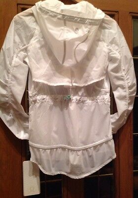 $ CDN145.73 • Buy Lululemon Fast Free Jacket White NWT Sz 6 SOLD OUT!