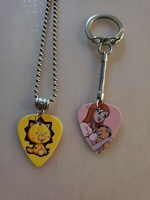 $ CDN9.99 • Buy Handmade Orihime Guitar Pick Necklace And Keychain Set