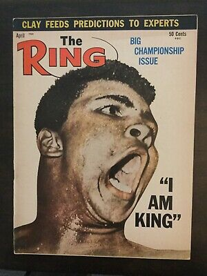 $9.99 • Buy Muhammad Ali - Cassius Clay Vs Sonny Liston I - 1964 THE RING Boxing Magazine