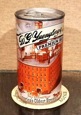 $6 • Buy  1981 Yuengling Steel Pull Tab Beer Can Pottsville Pa 152th Year Brewery Scene