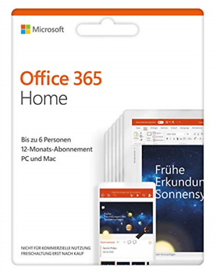AU205.14 • Buy MS Office 365 Home NEU (US IMPORT) GAME NEW
