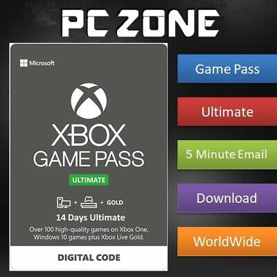 $2.99 • Buy XBOX LIVE 14 Day GOLD + GAME PASS (ULTIMATE) XBOX ONE Code INSTANT DELIVERY