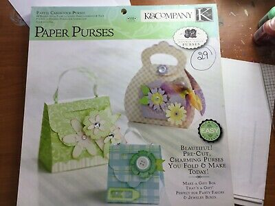K & Co Paper Crafting Kit Of 29 Cute Little Bags. Craft Activity Adults/children • 13.95£