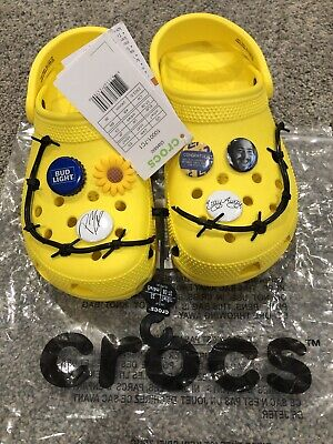 $149.99 • Buy Post Malone X Crocs Dimitri Barbed Wire Clog, Size 5 Mens, Size 7 Womens, RARE!