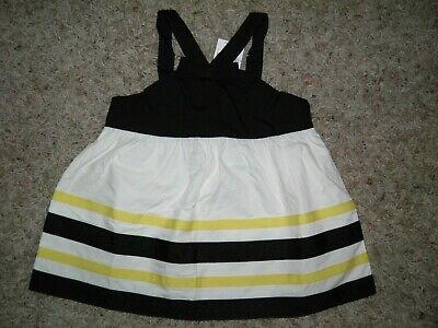 $14.95 • Buy GYMBOREE  Bee Chic  Dressy Grosgrain Ribbon Top Size 5T~ New!