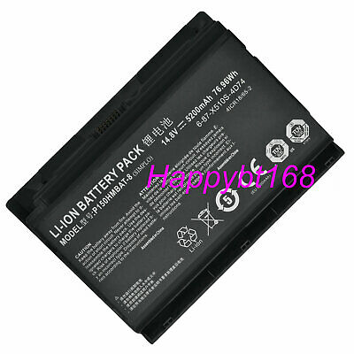 $65.89 • Buy Genuin P150HMBAT-8 Battery For Clevo P150HM P151HM Sager NP8150 NP8130 6-87-X510