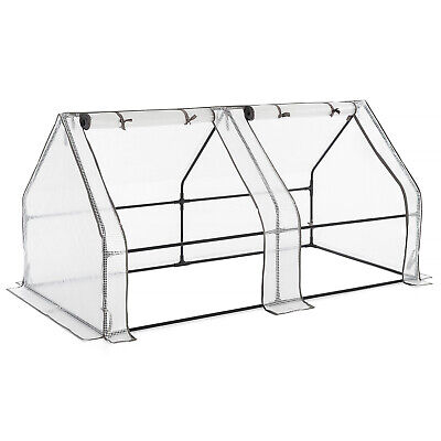 Growhouse Tunnel Greenhouse Large Garden Polytunnel Grow House • 44.99£