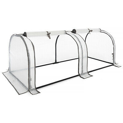 Growhouse Tunnel Greenhouse Large Garden Polytunnel Grow House • 34.99£