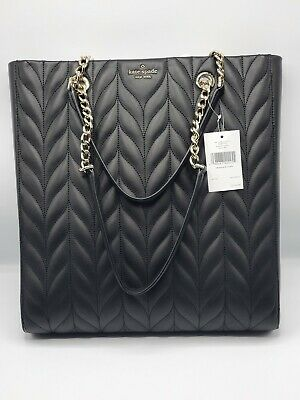 $ CDN194.63 • Buy Kate Spade Briar Lane Quilted Slim North South Tote Women's Leather Handbag NEW
