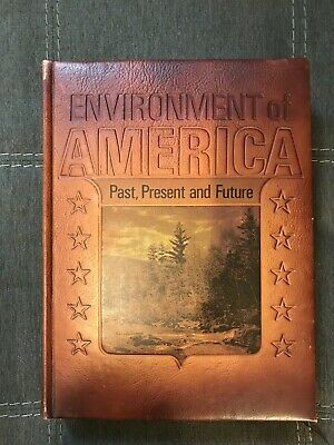 $6.99 • Buy ENVIRONMENT OF AMERICA Past, Present, And Future 1971 Leather Bound