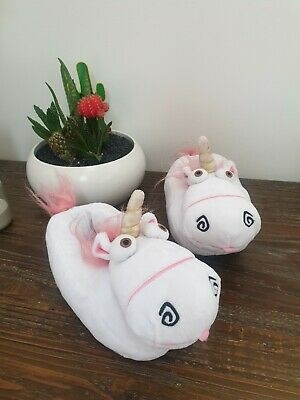 AU18 • Buy DESPICABLE ME UNICORN Kids Slippers Size 8 (small) 20cm Universal Studios Sleep