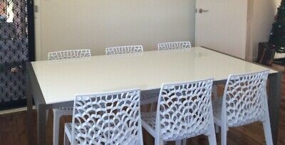 AU80 • Buy Modern White Dining Table