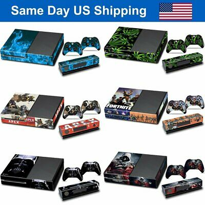 $8.86 • Buy New Vinyl Skin Decal Stickers Covers Set For Xbox One Console & 2 Controllers