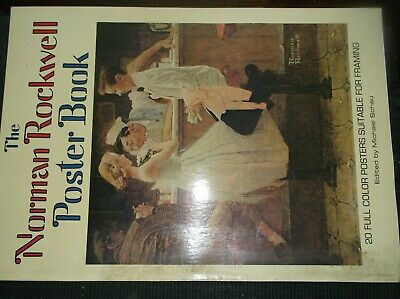 $ CDN49.31 • Buy The NORMAN ROCKWELL POSTER BOOK -20 Full COLOR Posters SUITABLE FOR FRAMING