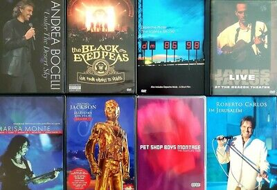 $10 • Buy DVD Music Titles, Rare, Great Condition, Same Day Shipping