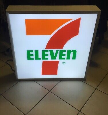 AU1500 • Buy 7-Eleven Genuine Illuminated Sign LED Back Lighted, Man Cave, Garage, Bar, Shed