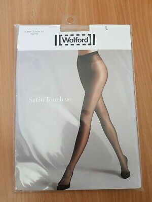 WOLFORD Satin Touch 20 Tights - Large/Cosmetic (NEW) • 15£