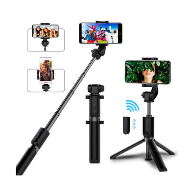 £11.95 • Buy Tripod Selfie Stick With Wireless Remote For Apple IPhone And Android Phones