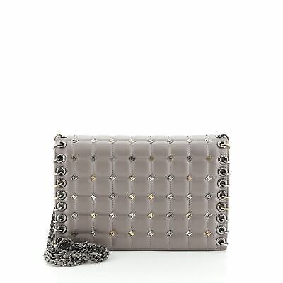 AU5405.95 • Buy Chanel Piercing Chain Flap Bag CC Studded Quilted Lambskin Small