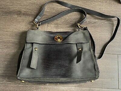AU1200 • Buy Pre-owned YSL Muse II Leather Bag
