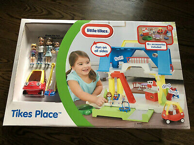 $79.99 • Buy LITTLE TIKES PLAYSET TIKES PLACE DOLLHOUSE FIGURES COUPE CAR Mint NEW UNOPENED