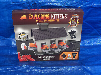 AU50 • Buy (New) Exploding Kittens Exploding House Collector Construction Set, Trading Card