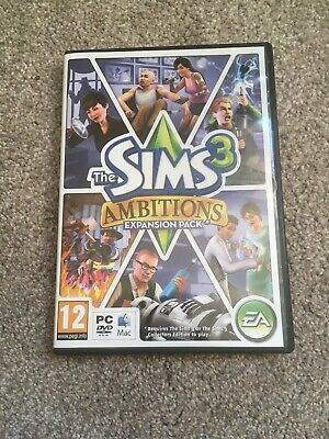 The Sims 3: Ambitions Expansion Pack (PC: Mac, 2010) • 0.99£