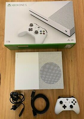 AU247.50 • Buy Microsoft Xbox One S 1TB White Console - Very Good Condition - Rarely Used