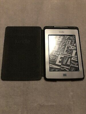 AU79 • Buy Kindle Touch EBook Reader With Genuine Kindle Cover & Charging Cable