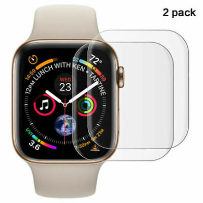 AU1.25 • Buy 2 Pack Tempered Glass Screen Protector For Apple Watch IWatch 3/4/5 38-44mm New
