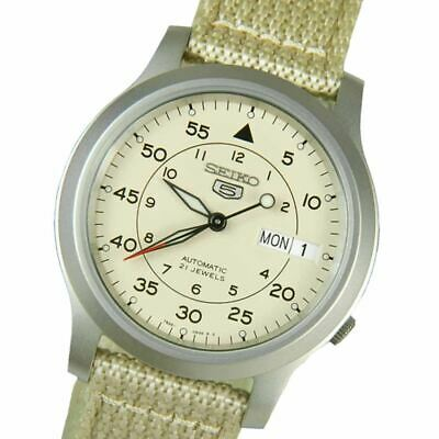 $ CDN117.36 • Buy Seiko 5 SNK803K2 Military Automatic Watch SNK803 TRUSTED SELLER 100% Authentic