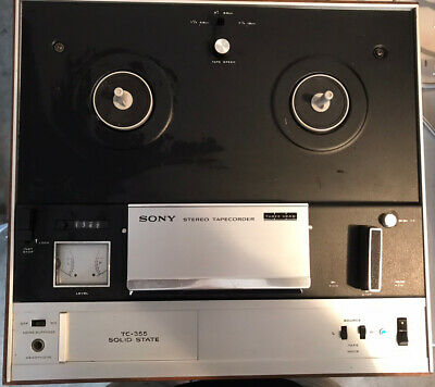 $50 • Buy Vintage Sony TC-355 Stereo 7  Reel-To-Reel Tapecorder Recorder Player Very Clean
