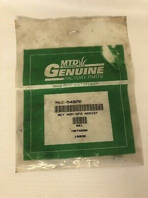 MTD Genuine Factory Parts Retainer Assembly 753-04928 NEW SEALED Lawn Mower NOS  • 7.16£