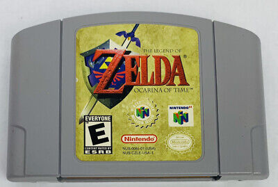 $49.99 • Buy The Legend Of Zelda Ocarina Of Time Nintendo 64 Game N64 AUTHENTIC - Works Great
