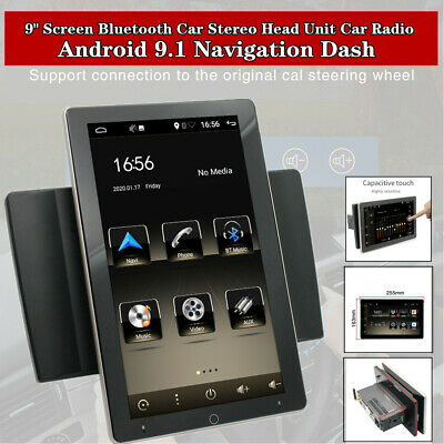 $297.50 • Buy 9 Touch Screen Bluetooth Player Car Stereo Head Unit Radio Android 9.1 GPS Dash