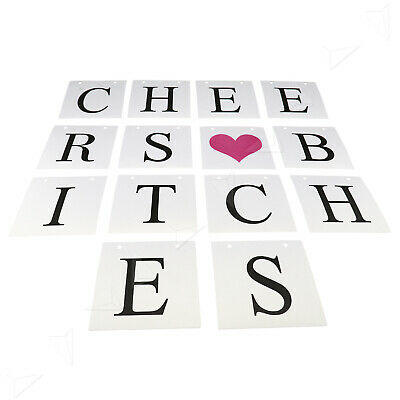 AU14.12 • Buy Bachelorette Hens Night Party Banner Cheers Bitches Bunting Decor Supplies NEW