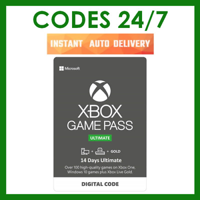 $2.49 • Buy 14 Days Xbox Game Pass Ultimate - Xbox Live Gold Membership + Pass - Xbox One
