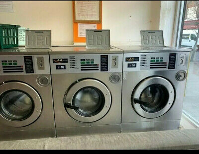 2 X Coin Operated Launderette Laundry Machine For Sale • 1,998£
