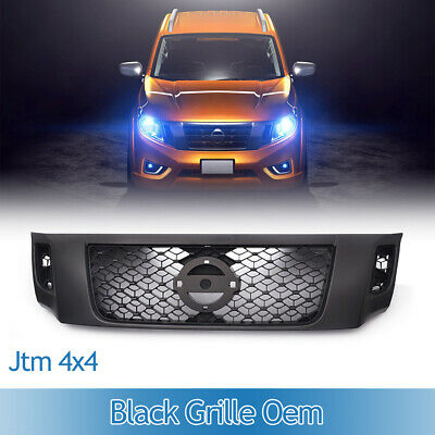 AU185 • Buy Fits For Nissan Navara NP300 D23 2015- 2019 Black Front Grill Grille