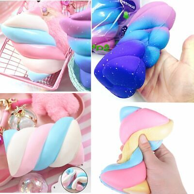 AU16.06 • Buy Scented Galaxy Jumbo Squishies Bread Cake Squeeze Toys Simulation Marshmallow
