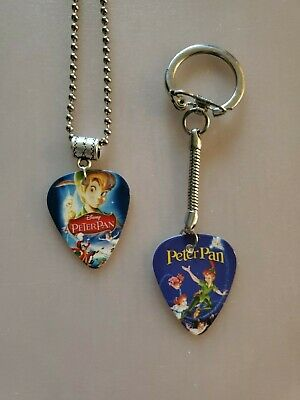 $ CDN9.99 • Buy Handmade Peter Guitar Pick Necklace And Keychain Set